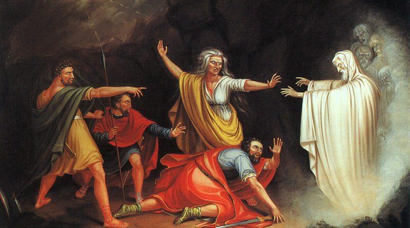 Saul e a Feiticeira de Endor, William Sidney Mount (1807–1868)