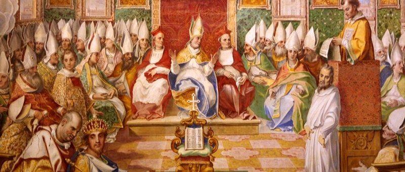 Mudanças na história da igreja durante 1.600 anos depois de Cristo