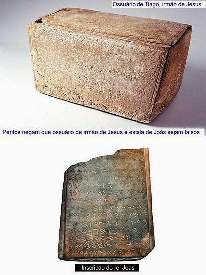 ossuario de Tiago, Joas