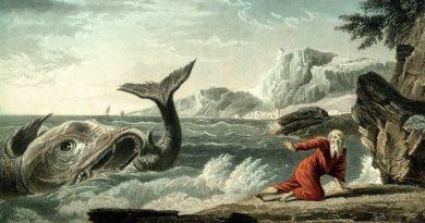 Porque Jonas foi engolido por um grande peixe?
