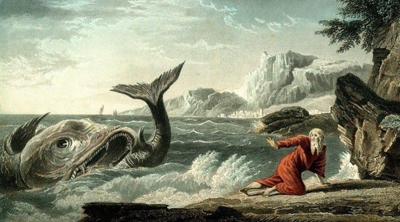 Por que Jonas foi engolido por um grande peixe?