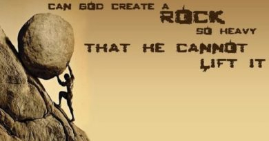 Deus criaria uma pedra que Ele não conseguisse levantar