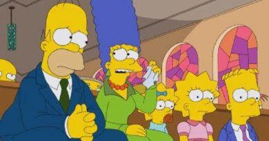O que as igrejas estão se tornando, por Simpsons