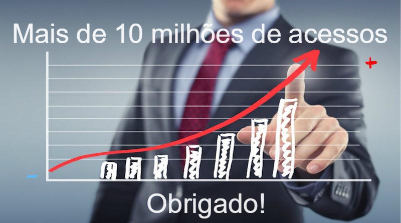 Mais de 10 milhões de acessos ao site Raciocínio Cristão - Obrigado