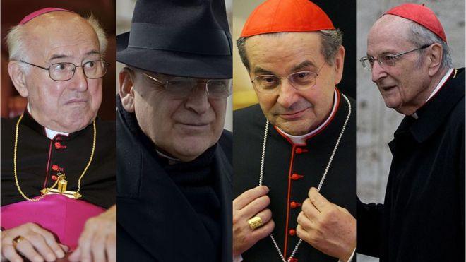 Dos signatários, três são cardeais reformados: os alemães Walter Brandmüller e Joachim Meisner e o italiano Carlo Caffarra. O quarto signatário, o cardeal norte-americano Raymond Leo Burke, único que ainda está ativo, é um crítico frequente do papa Francisco.